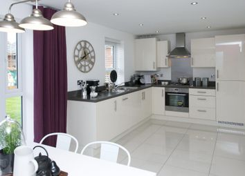 "Thumbnail 4 bed end terrace house for sale in ""Taunton"" at Pedersen Way, Northstowe, Cambridge"