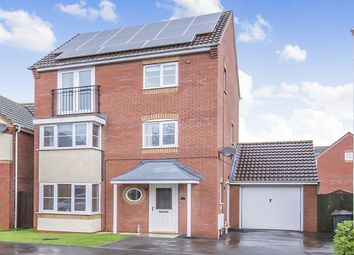Thumbnail 4 bed detached house for sale in Clover Way, Bedworth