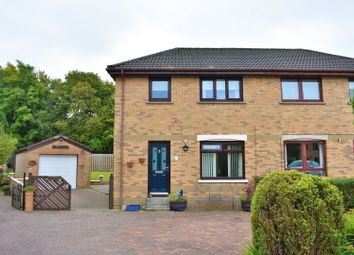 Thumbnail 3 bed semi-detached house for sale in Tern Brae, Livingston