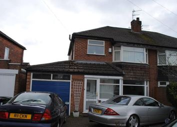 Thumbnail 3 bed semi-detached house for sale in Sunningdale Road, Cheadle Hulme, Cheadle, Greater Manchester