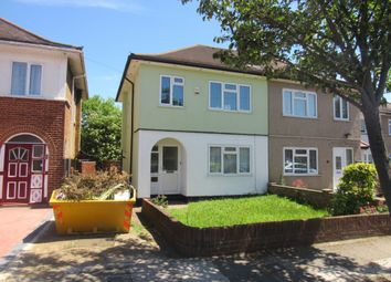 Thumbnail 3 bed semi-detached house for sale in Bryant Road, Northolt