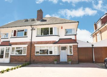 Thumbnail 4 bed semi-detached house for sale in Falstaff Road, Shirley, Solihull
