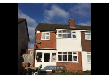 Thumbnail 3 bed semi-detached house to rent in Nottingham Drive, Willenhall