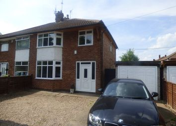 Thumbnail 3 bed semi-detached house to rent in Banks Road, Toton, Nottingham