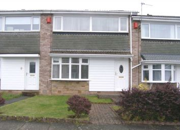 Thumbnail 3 bed terraced house to rent in Mainstone Close, Whitelea Dale, Cramlington