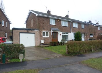 Thumbnail 3 bedroom semi-detached house for sale in Petersmith Drive, New Ollerton, Newark, Nottinghamshire