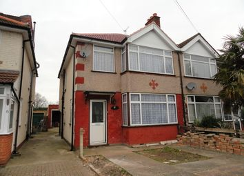 Thumbnail 3 bed semi-detached house to rent in Summit Road, Northolt Village