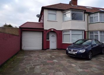Thumbnail 3 bed end terrace house for sale in Woodstock Crescent, Lower Edmonton, London