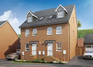 "Thumbnail 4 bedroom semi-detached house for sale in ""Blakeney"" at Sandoe Way, Pinhoe, Exeter"