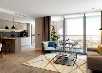 Thumbnail 2 bed flat for sale in Prince Of Wales Drive, Vauxhall