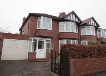 Thumbnail 3 bed semi-detached house for sale in Polwarth Drive, Brunton Park, Gosforth