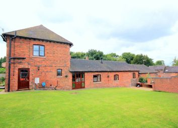 Thumbnail 5 bedroom barn conversion for sale in Queen Marys Drive, Barlaston, Stoke-On-Trent