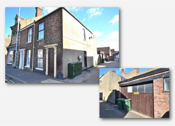 Thumbnail 2 bed end terrace house for sale in Railway Road, King's Lynn