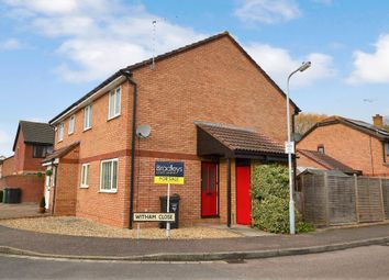 Thumbnail 1 bed terraced house for sale in Witham Close, Taunton, Somerset