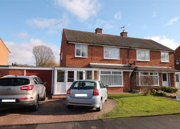 Thumbnail 3 bed semi-detached house to rent in Throckmorton Road, Alcester, Alcester