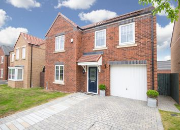Thumbnail 4 bedroom detached house for sale in West Wood Drive, Normanby