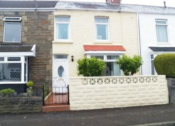 Thumbnail 2 bed terraced house to rent in Manor Road, Swansea