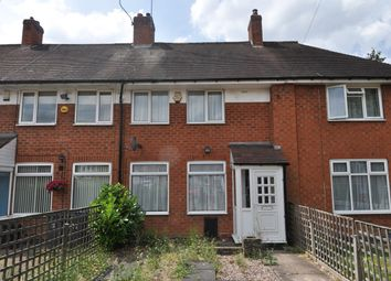 Thumbnail 3 bed terraced house for sale in Elderfield Road, Birmingham