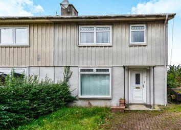 Thumbnail 3 bed semi-detached house for sale in Aitkenbar Circle, Dumbarton