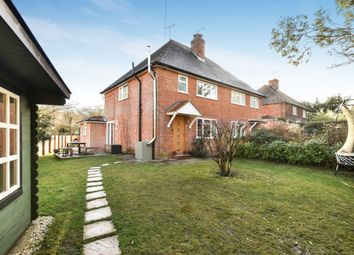 Thumbnail 3 bed semi-detached house for sale in Tilford Road, Churt, Farnham, Surrey