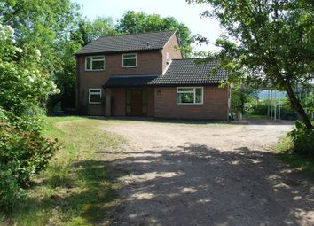 Thumbnail 3 bed detached house to rent in Beacon Road, Loughborough