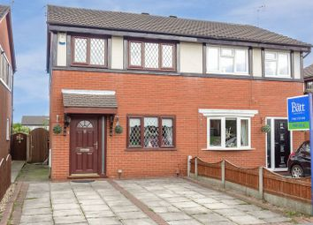 Thumbnail Semi-detached house for sale in Havercroft Close, Wigan