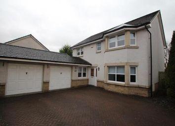 Thumbnail 5 bed detached house for sale in Sandpiper Crescent, Coatbridge, North Lanarkshire