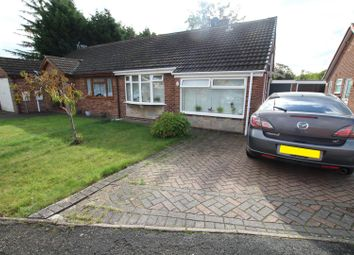 Thumbnail 3 bed semi-detached bungalow for sale in Harwood Avenue, Branston, Burton-On-Trent