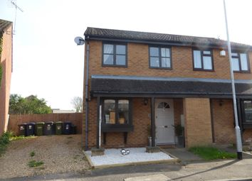 Thumbnail 2 bedroom semi-detached house for sale in Beatons Close, Yaxley, Peterborough