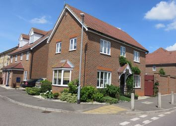 Thumbnail 3 bed detached house for sale in Love Lane, Aveley