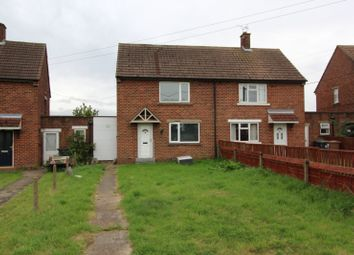 Thumbnail 2 bed semi-detached house for sale in Moor Lane, Branston Booths, Lincoln, Lincolnshire