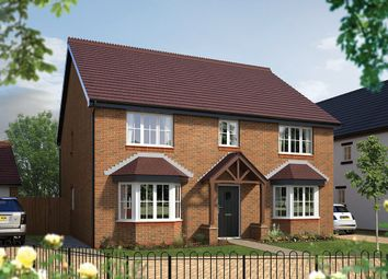 "Thumbnail 5 bed detached house for sale in ""The Winchester"" at Hall End, Wootton, Bedford"