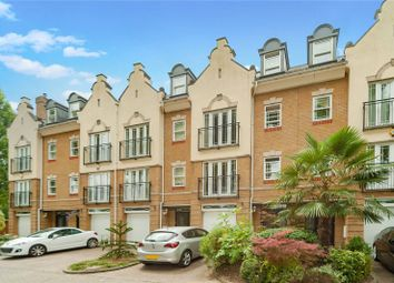 Thumbnail 4 bedroom terraced house to rent in Barker Close, Kew, Surrey