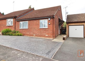 Thumbnail 2 bed semi-detached bungalow for sale in Cedar Close, Brantham, Manningtree