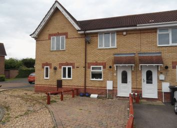 Thumbnail 2 bed terraced house to rent in Buttercup Close, Shortstown, Bedford
