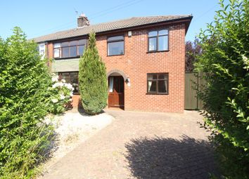 Thumbnail 4 bed semi-detached house for sale in St Marys Avenue, Walton-Le-Dale, Preston