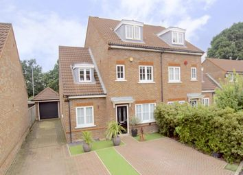 Thumbnail 5 bedroom property for sale in Stanborough Mews, Stanborough Road, Welwyn Garden City