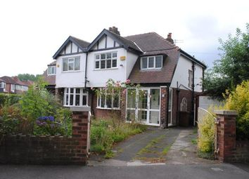 Thumbnail 3 bed semi-detached house for sale in Parkway, Stockport, Greater Manchester