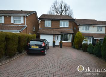 Thumbnail 3 bedroom detached house for sale in Holly Dell, Birmingham, West Midlands.