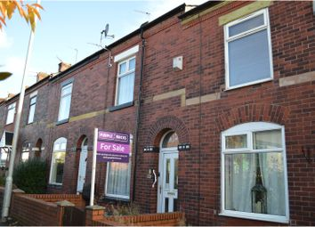 Thumbnail 2 bed terraced house for sale in Wellington Road, Manchester