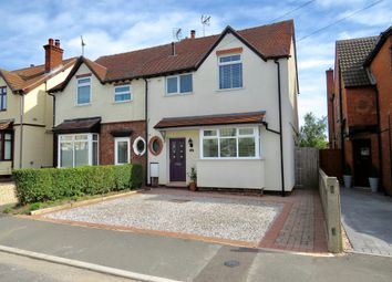 Thumbnail 3 bed semi-detached house for sale in Victoria Road, Pinxton, Nottingham