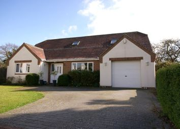 Thumbnail 4 bed detached house to rent in Wimborne Road West, Wimborne