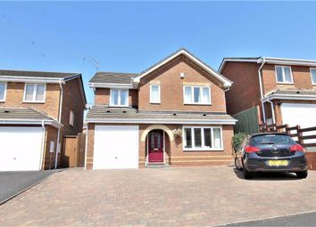 Thumbnail 4 bed detached house for sale in Shipton Close, Milking Bank, Dudley