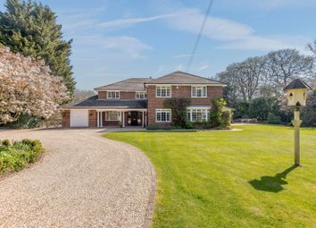 Thumbnail 5 bed detached house for sale in Rag Hill, Aldermaston, Reading, Berkshire