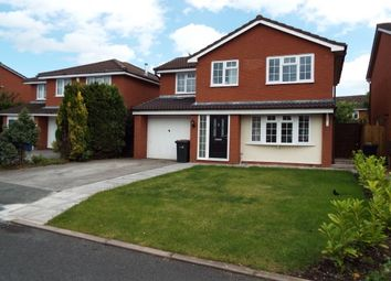 Thumbnail 3 bed detached house to rent in Springwell Close, Crewe