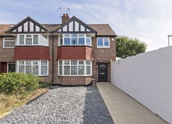 Thumbnail 3 bed terraced house for sale in Kingshill Avenue, Worcester Park