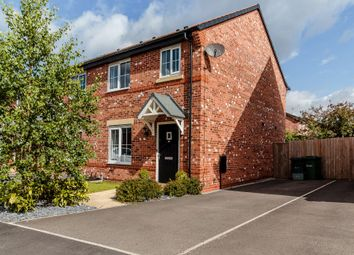 Thumbnail 3 bed semi-detached house for sale in Sandstone Lane, Tarporley, Cheshire