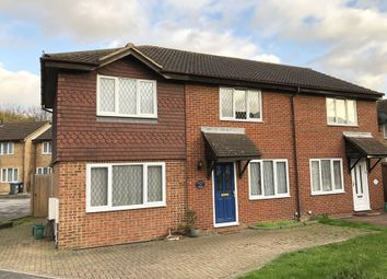 Thumbnail 3 bed semi-detached house for sale in Quincy Road, Egham