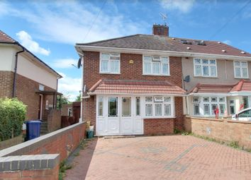 Thumbnail 4 bed semi-detached house for sale in Townson Way, Northolt