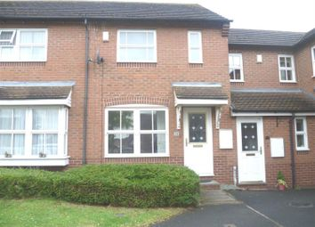 Thumbnail 2 bed terraced house to rent in Deans Slade Drive, Lichfield, Staffordshire